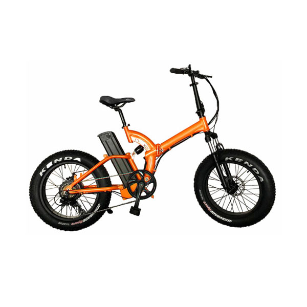 Full suspension frame folding e bike RSD-501