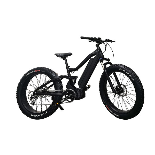 Full suspension frame MTB e bike RSD-408