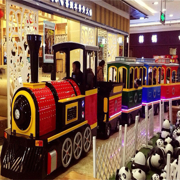 Mini Electric Trackless Train For Shopping Mall