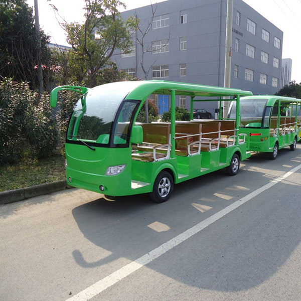 29 Passengers electric Trailer Sightseeing Bus